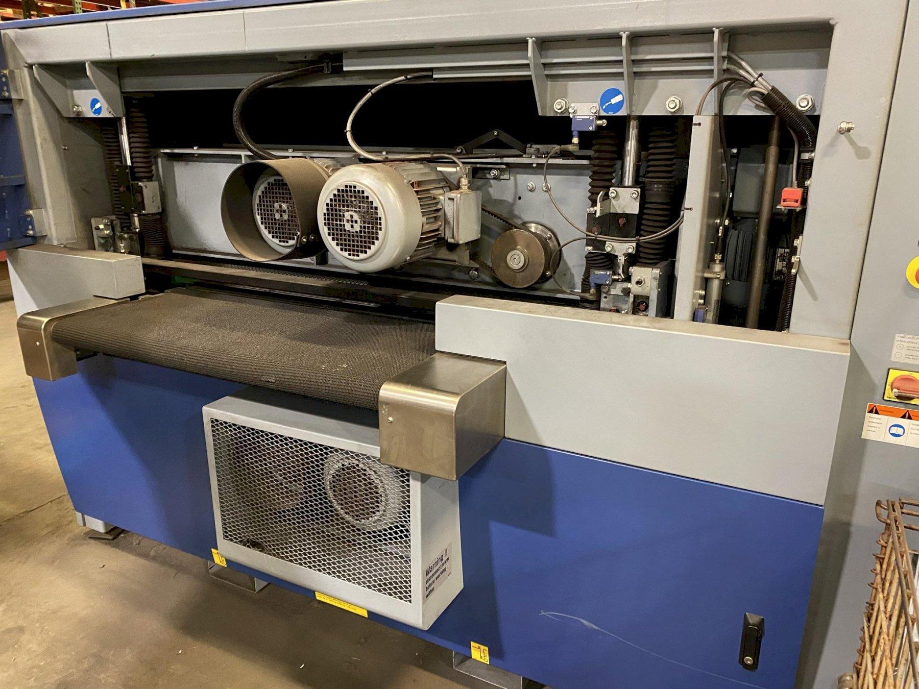 USED LISSMAC DUAL SIDED DEBURRING MACHINE, Stock# 10885, Year: 2014