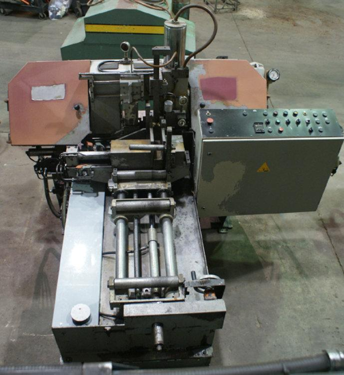 "USED BEHRINGER AUTOMATIC HORIZONTAL BANDSAW, Model HBP 260A, 10.2"" x 11.8"", Stock No. 9092"