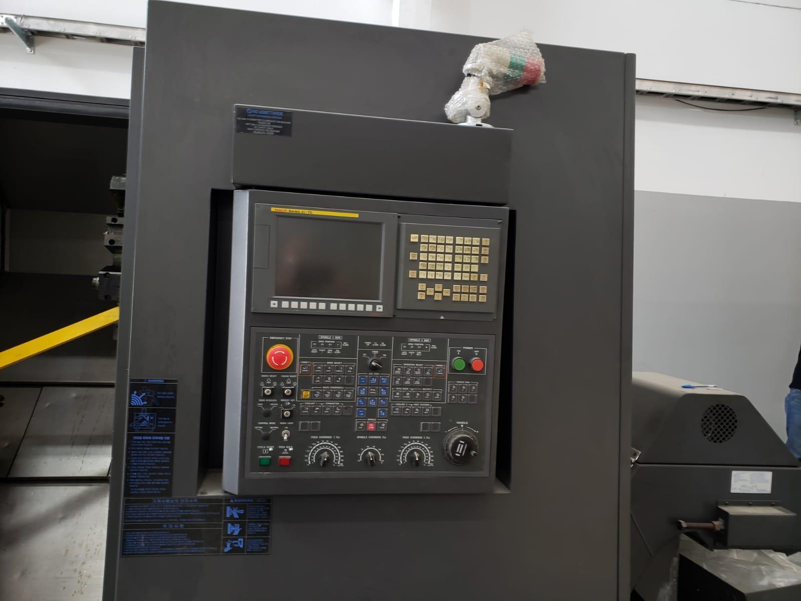 2011 Hwacheon T2-2TYSMC CNC Horizontal Lathe