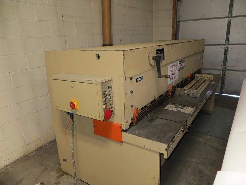 14 Ga x 8 ft Gatti Mechanical Power Shear S2550/3