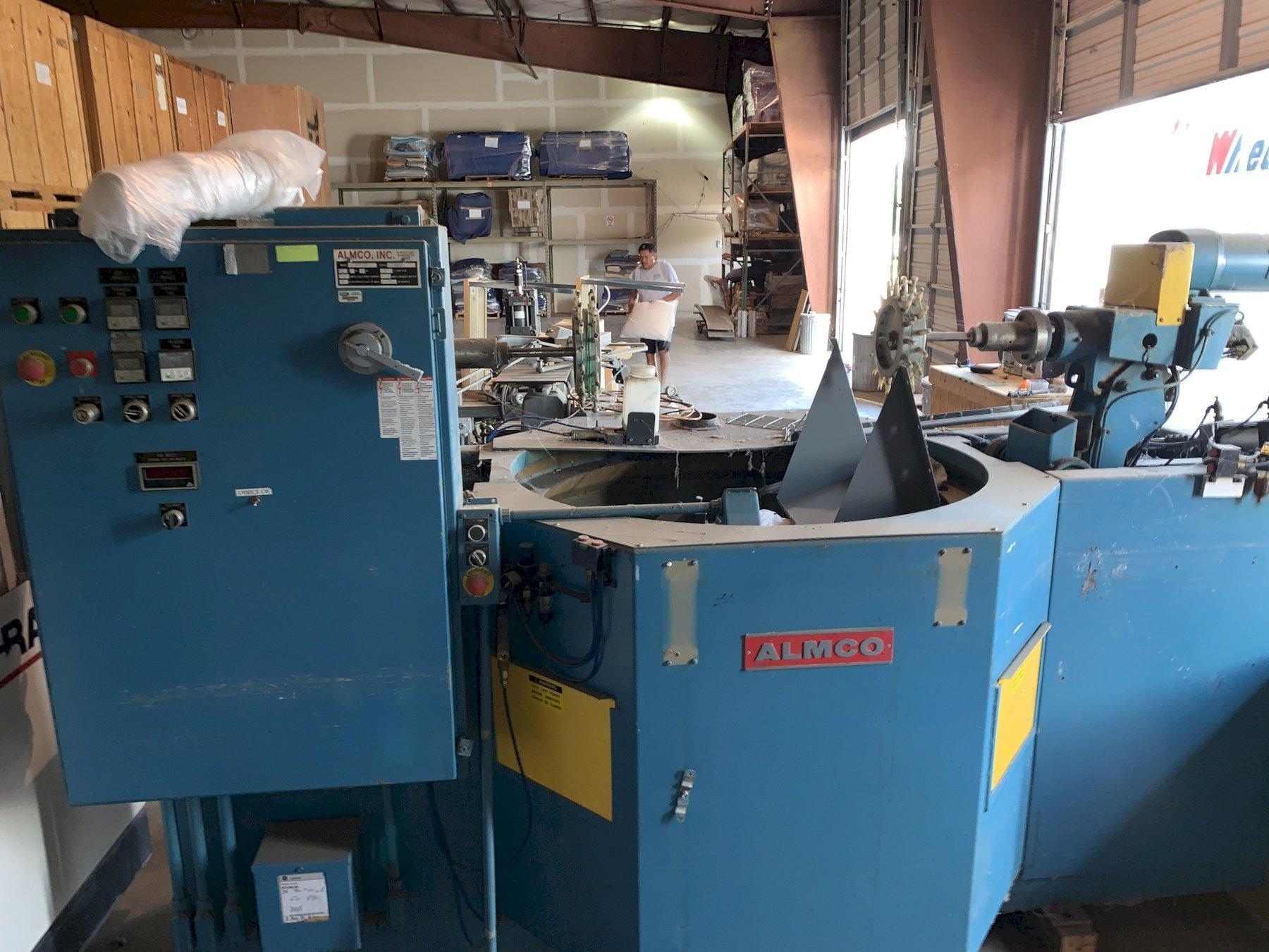 ALMCO 2SF-48A SPINDLE DEBURRING MACHINE. STOCK # 0953920