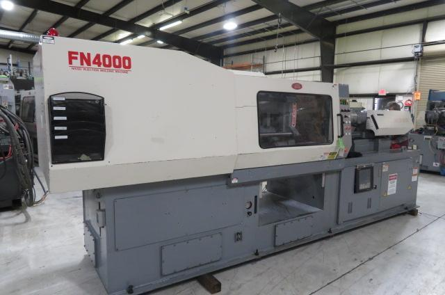 Nissei Used FN4000-18A Injection Molding Machine, 198 US ton, Yr. 1999, 4.9 oz.
