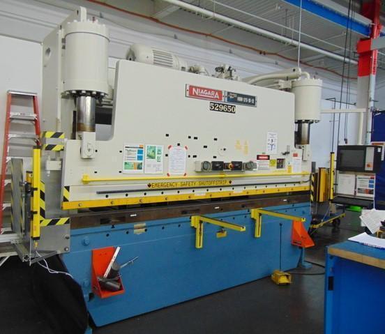175 TON X 12' NIAGARA MODEL #175-10-12 HYDRAULIC CNC PRESS BRAKE: STOCK #14636