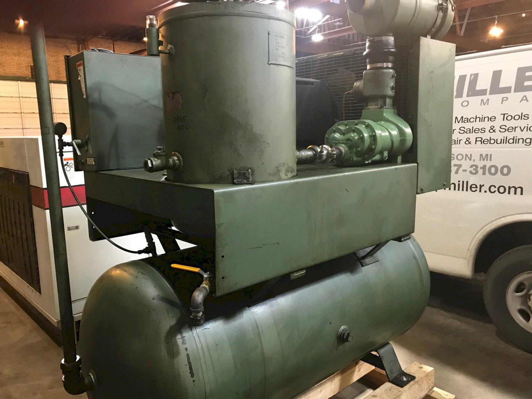 40 Hp Joy Twistair Rotary Screw air compressor rebuilt air-end