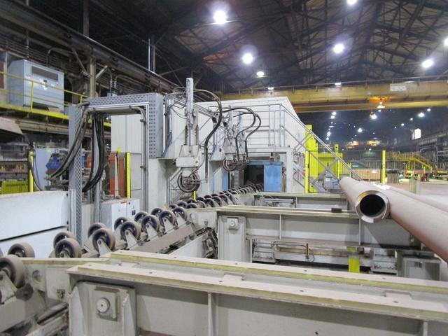 """12"""" (300mm) Loeser Tube and Bar Grinding and Polishing Line Year 2015"""