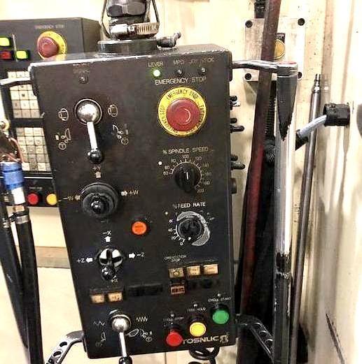 TOSHIBA BTD 110 R-16 CNC HORIZONTAL BORING MILL 1997