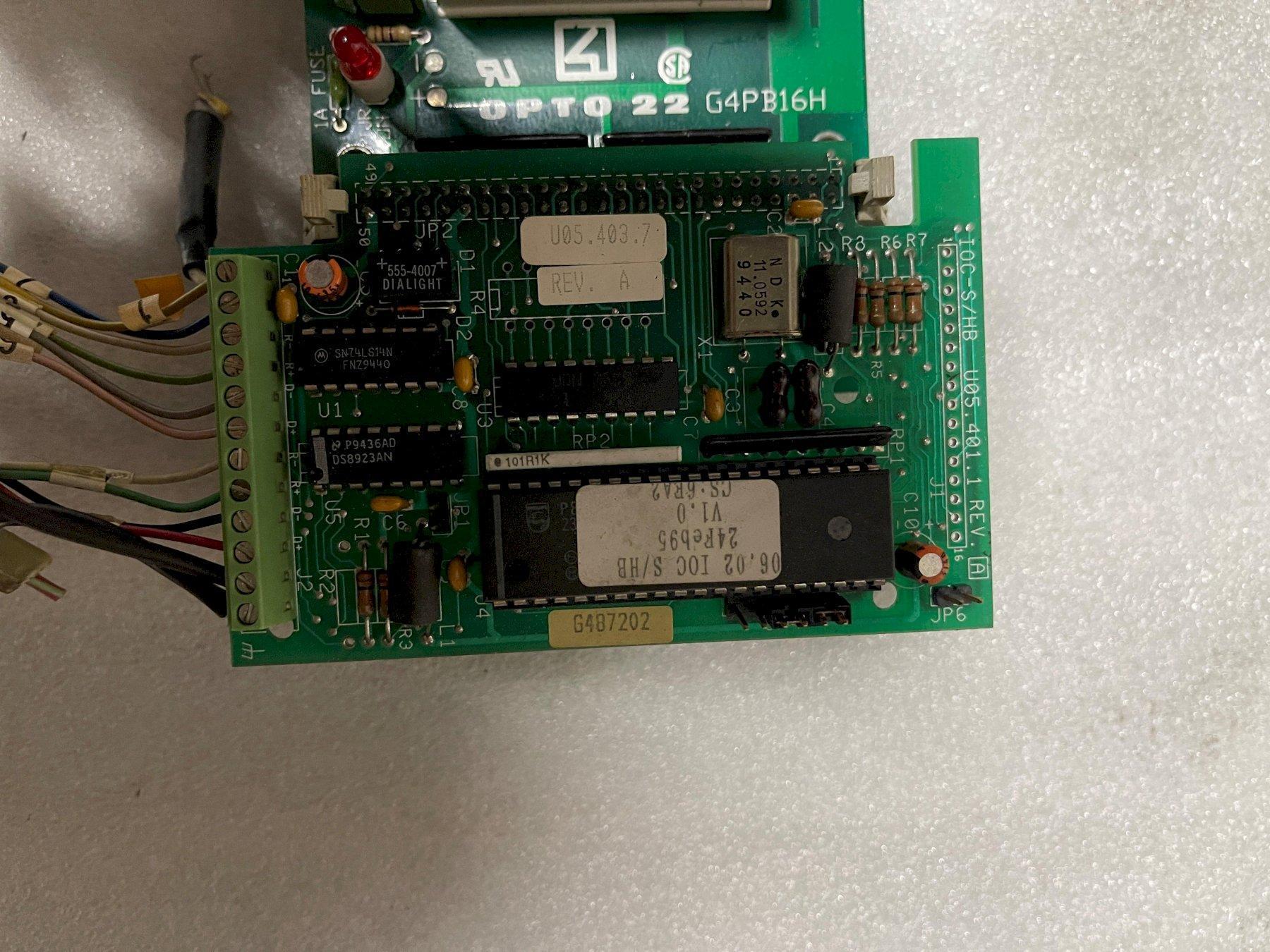 Logic Controller Board OPTO22 G4PB16H or G487202