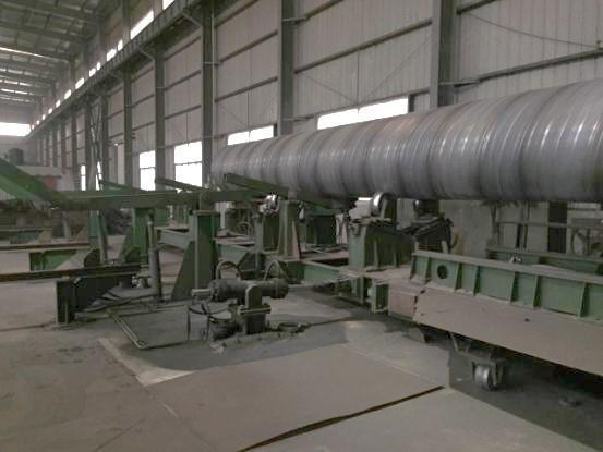 """56"""" (1420mm)  Spiral Welded Pipe Mill"""