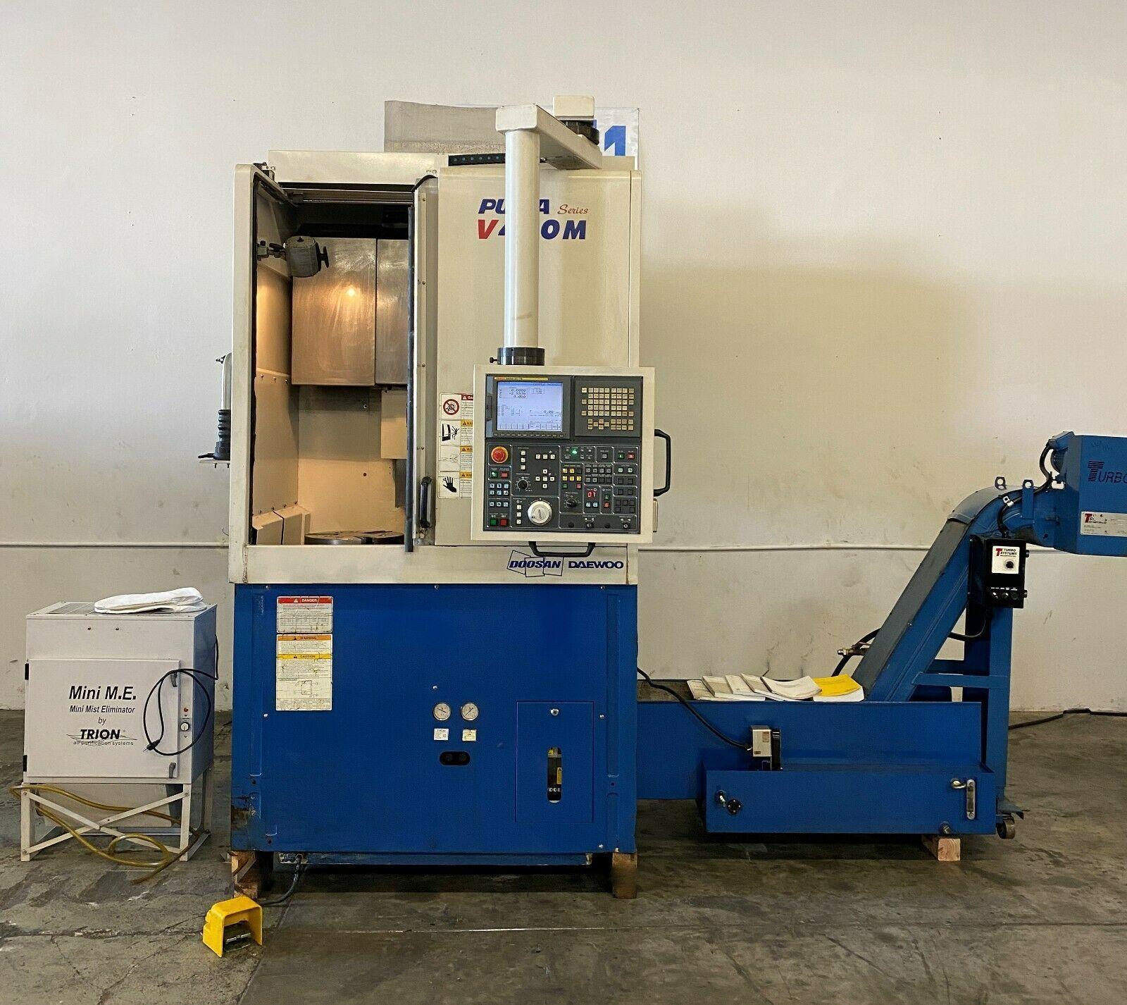 Daewoo Doosan V400M CNC Vertical Turn Mill