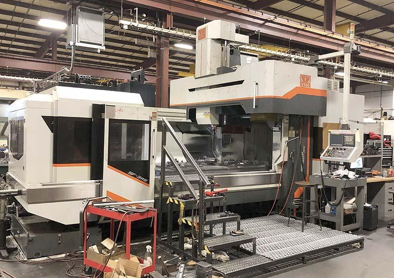 Vision Wide Bridge Type CNC Vertical Machining Center