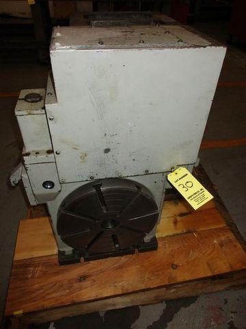 "12"" Tsudakoma Vertical Upper side Motor Mounted Type CNC Rotary Table Model: RNCK-301 S/N: 608476"