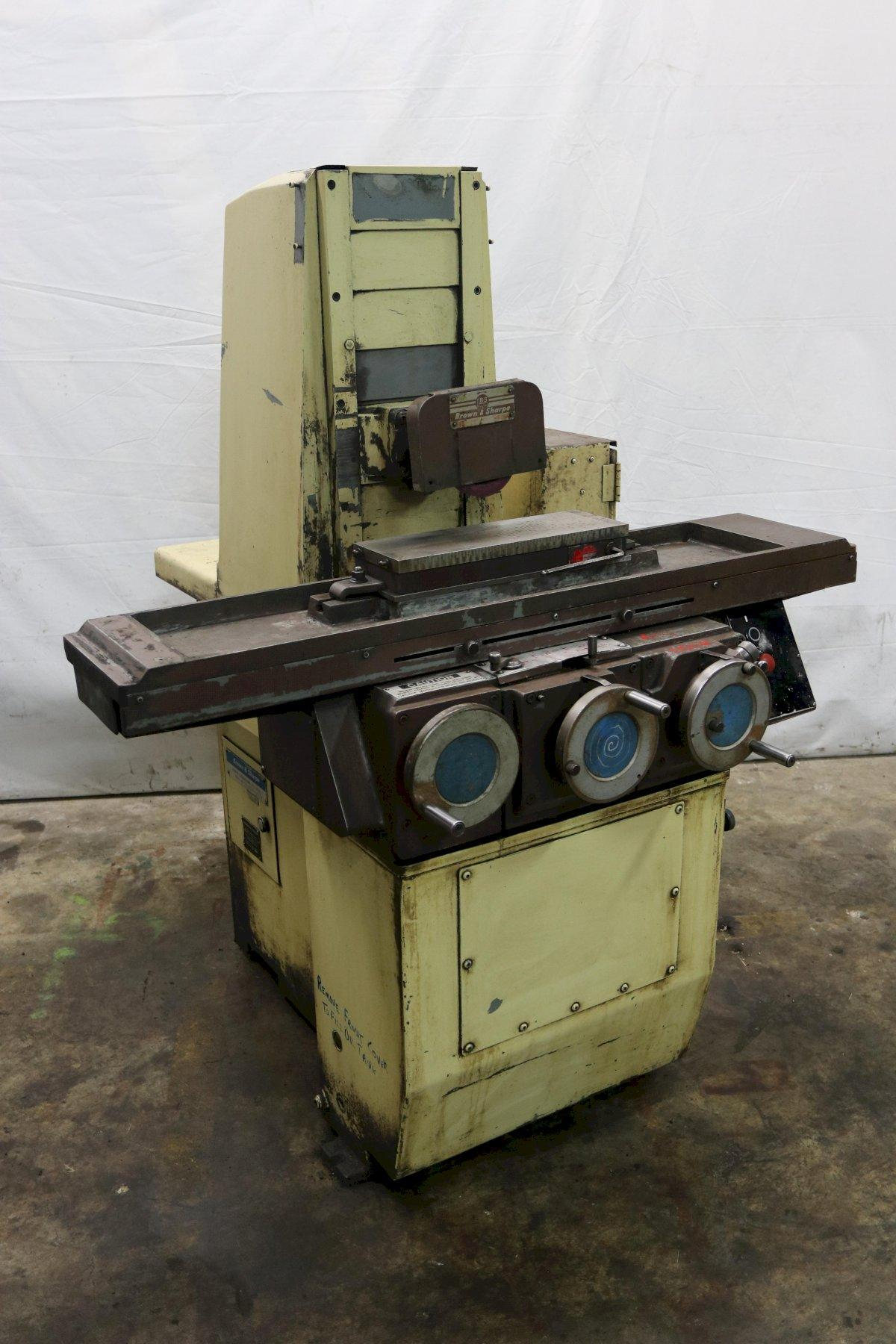 "6"" X 18"" BROWN & SHARPE MICROMASTER HORIZONTAL SURFACE GRINDER: STOCK 12219"
