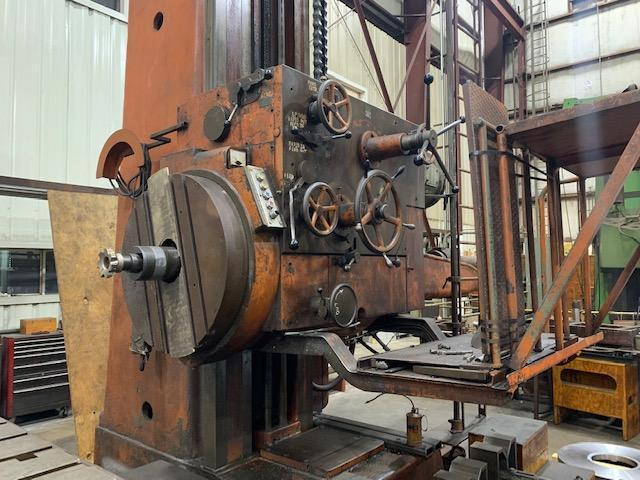 "USED, 5"" COLLET & ENGLEHART HORIZONTAL BORING MILL"