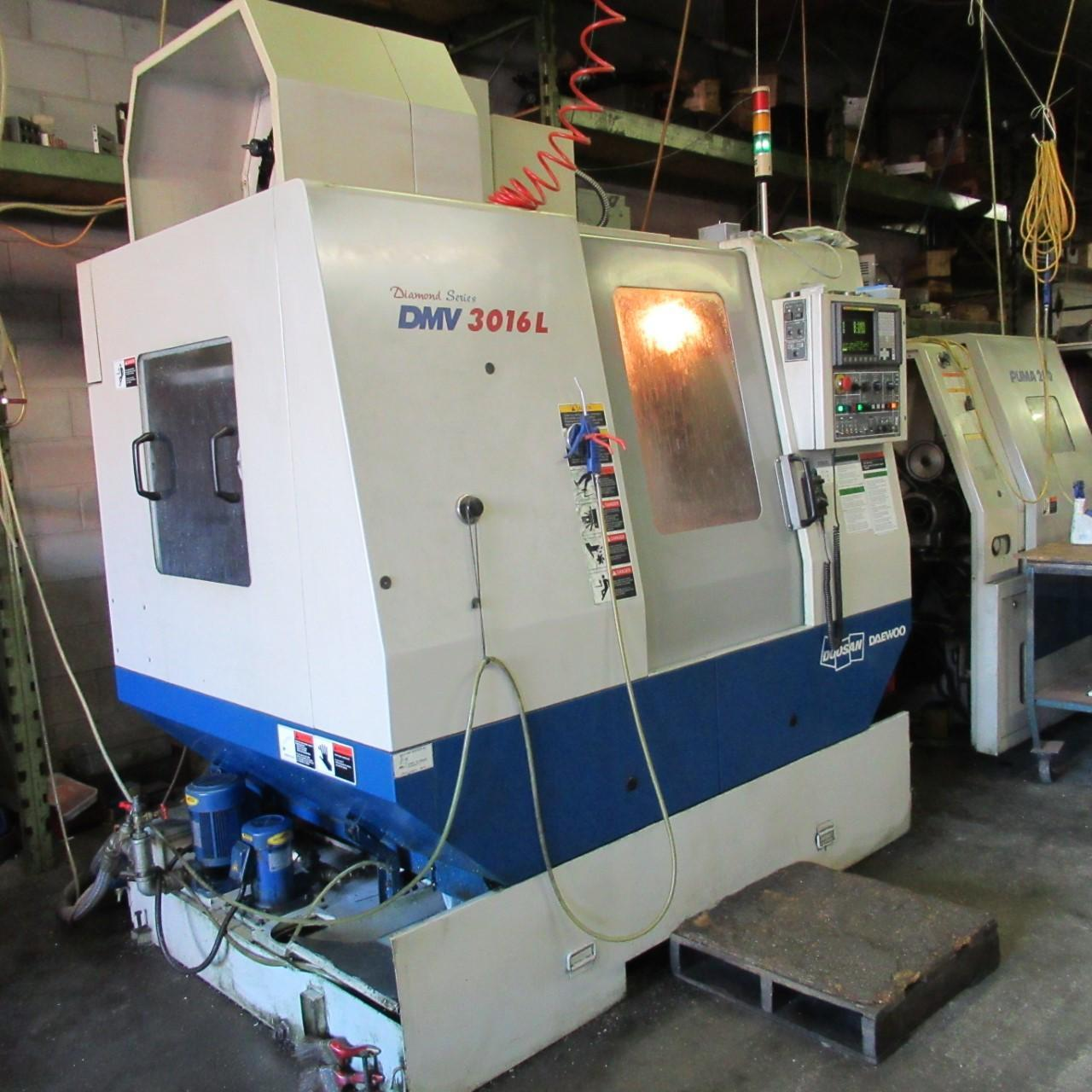 Daewoo DMV 3016-L Vertical Machining Center