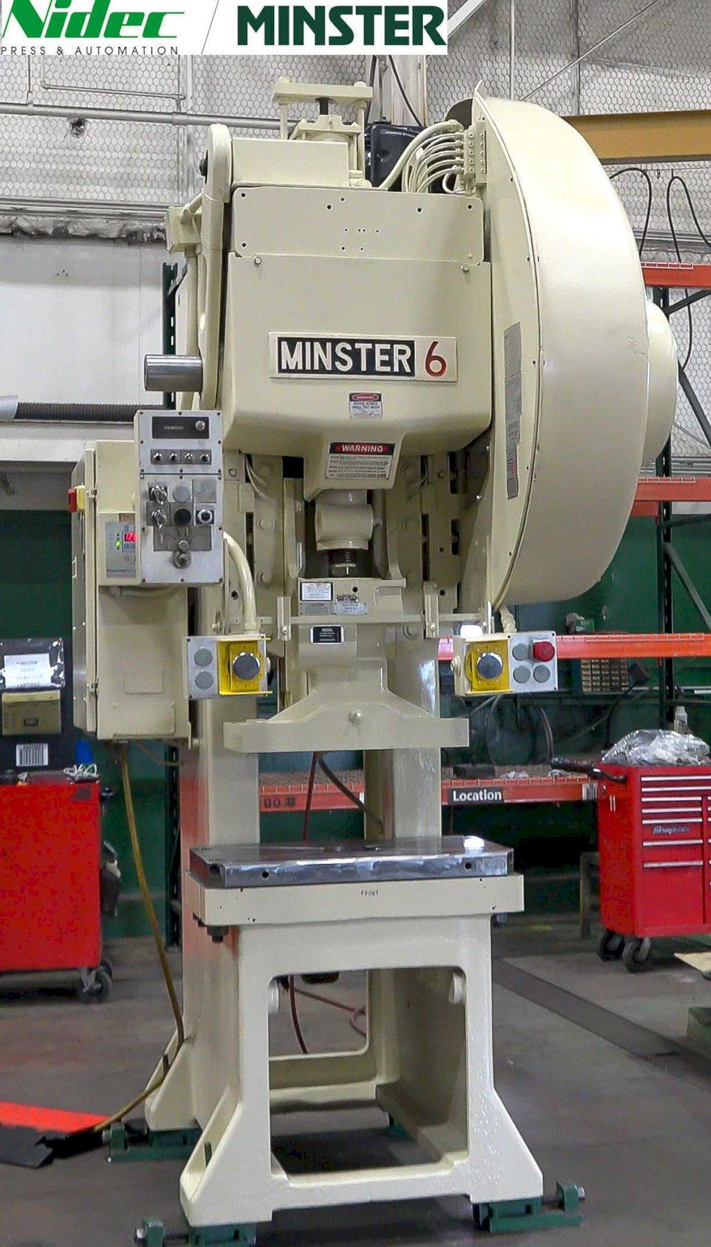 Minster #6 Open Back Stationary Press, Factory Certified