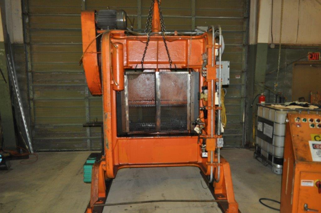 60 Ton Rousselle Double Crank Gap Frame Press