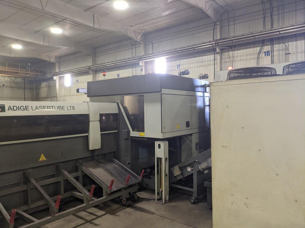 BLM LT8 CNC Tube laser