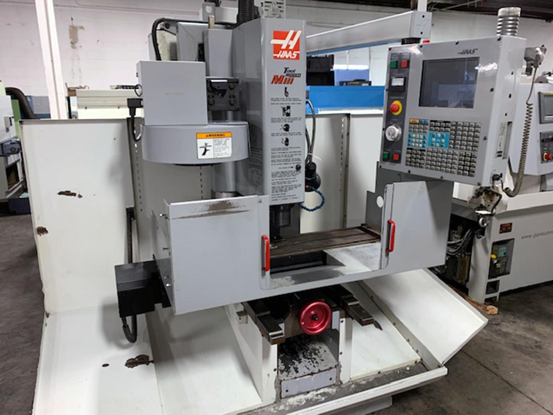 USED, HAAS TM-1 CNC VERTICAL MACHINING CENTER