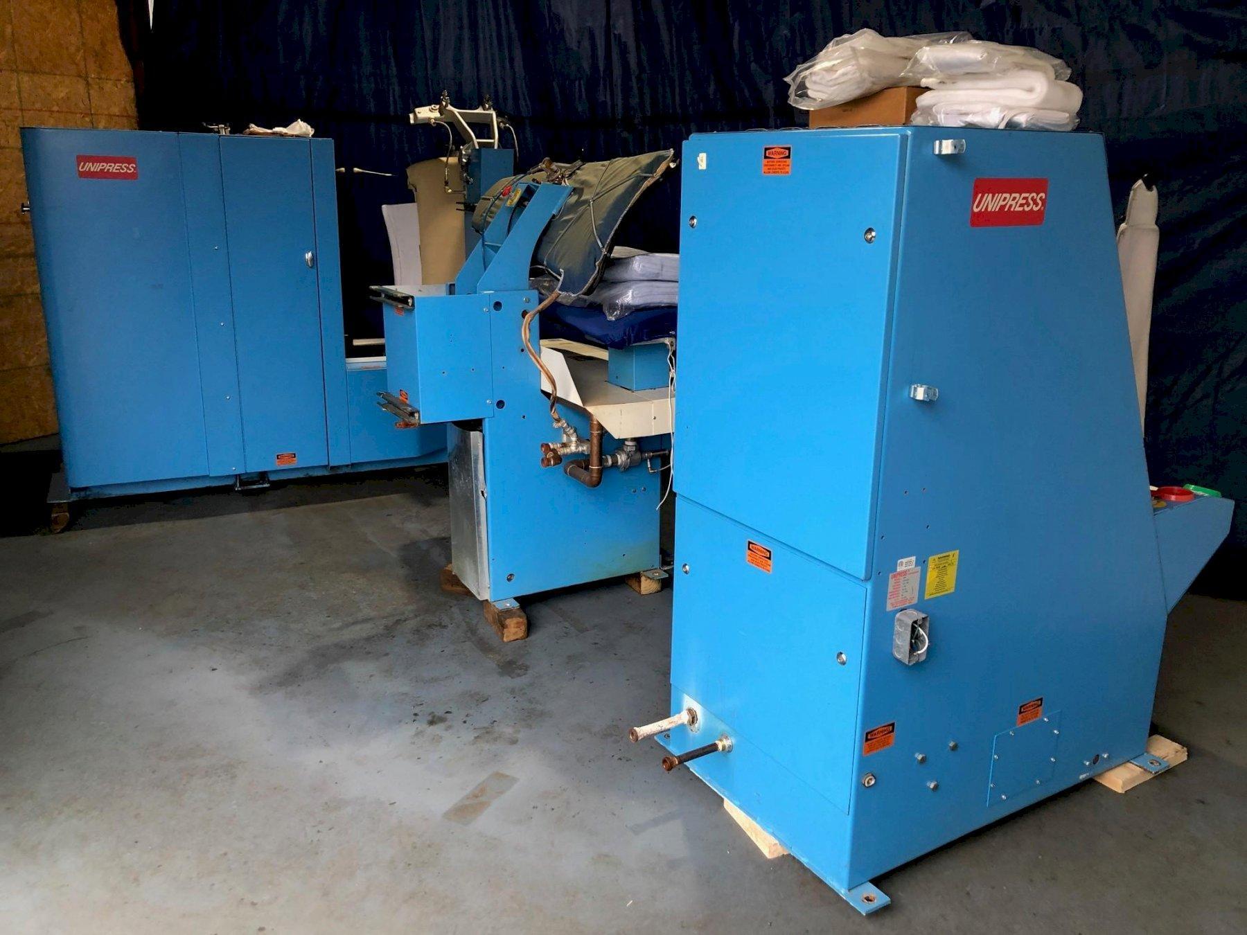 Unipress Steam Press Line Body / Sheever / Legger