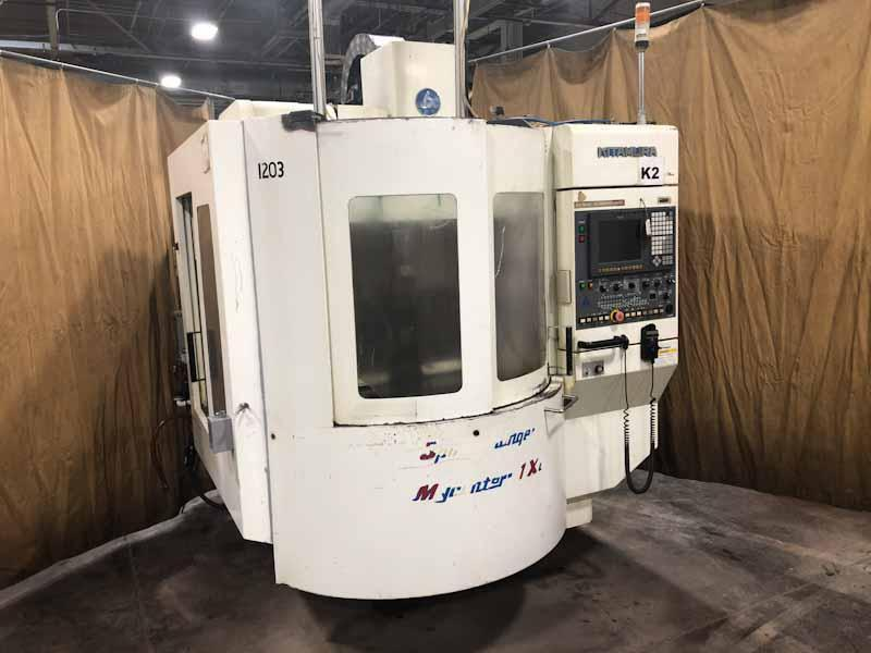 Kitamura MyCenter 1X Sparkchanger 2 Pallet Vertical Machining Center