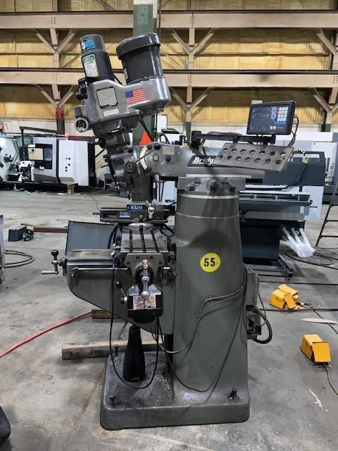Bridgeport Series 1 Vertical Milling Machine