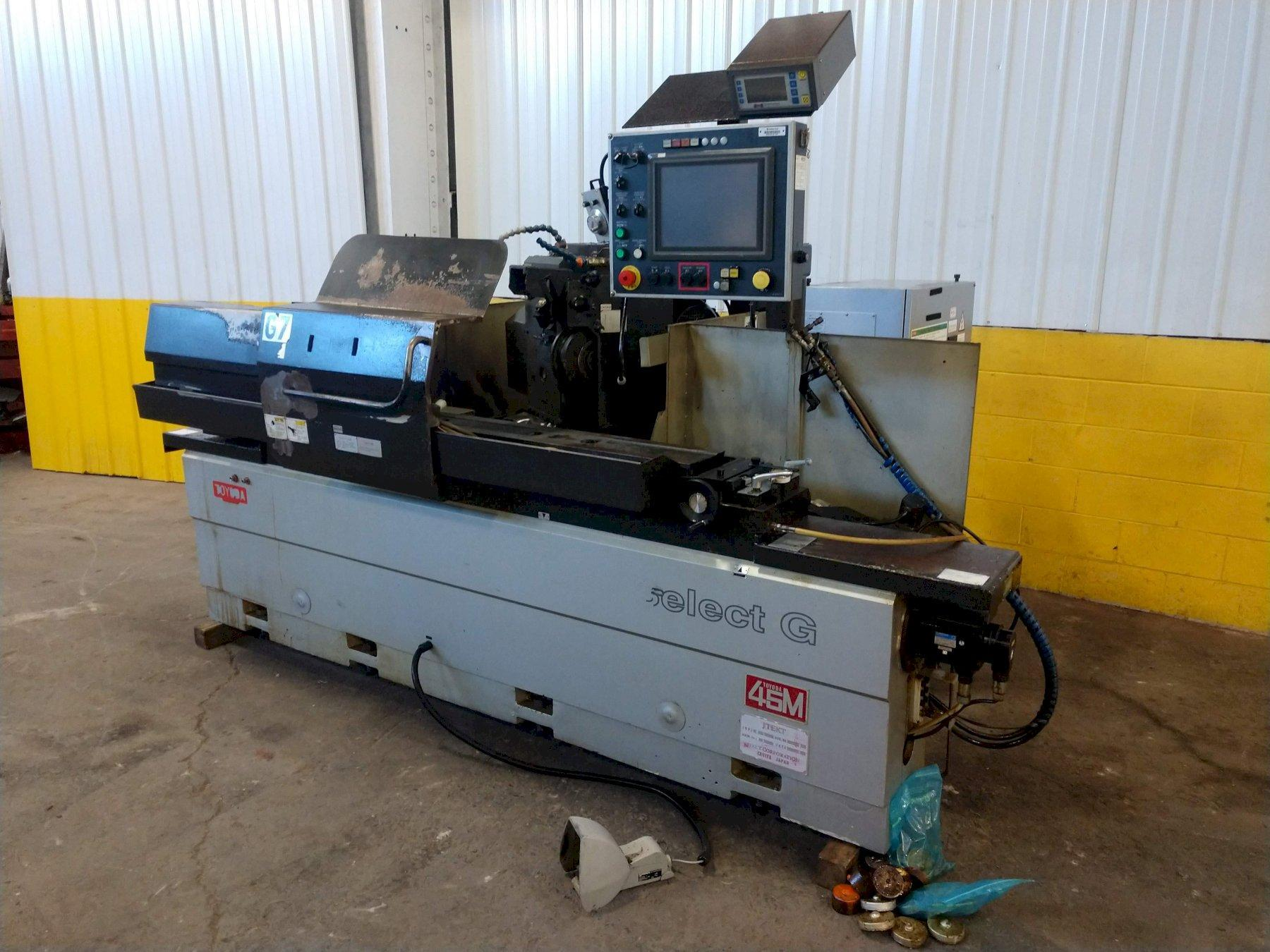 """12"""" X 39"""" TOYODA SELECT G-11 45M CNC CYLINDRICAL GRINDER: STOCK #14773"""