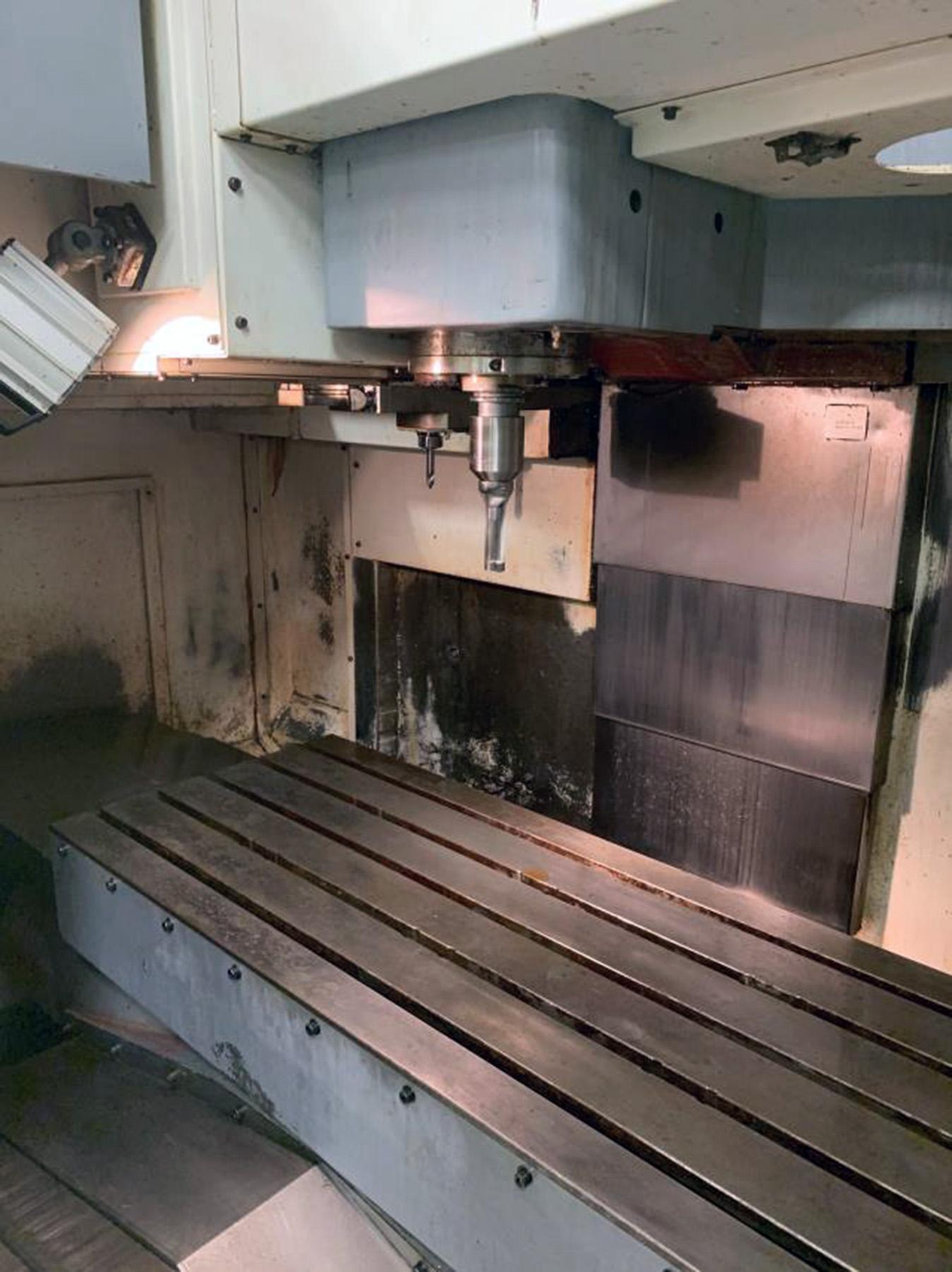 USED, MAZAK MODEL VCN510C CNC VERTICAL MACHINING CENTER