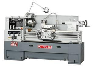 "NEW 17"" x 40"" KENT USA MLX-1740T PRECISION ENGINE LATHE"