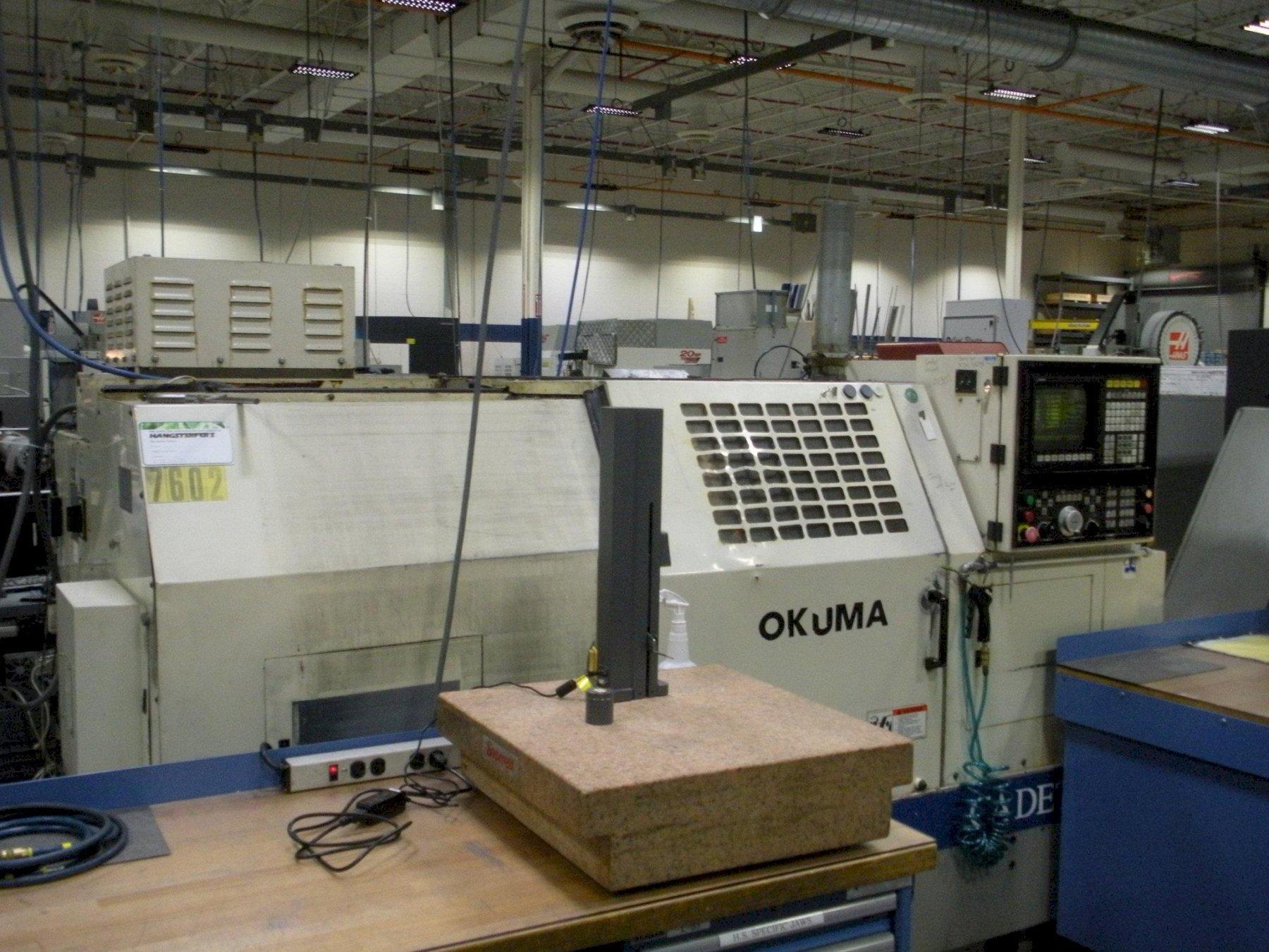 Okuma Cadet L1420 Turning Center, S/N 0178.