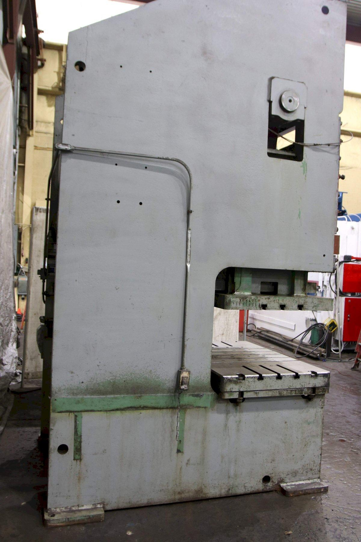 150 TON NIAGARA MODEL #SG2-150-60-36 DOUBLE CRANK GAP FRAME PRESS: STK