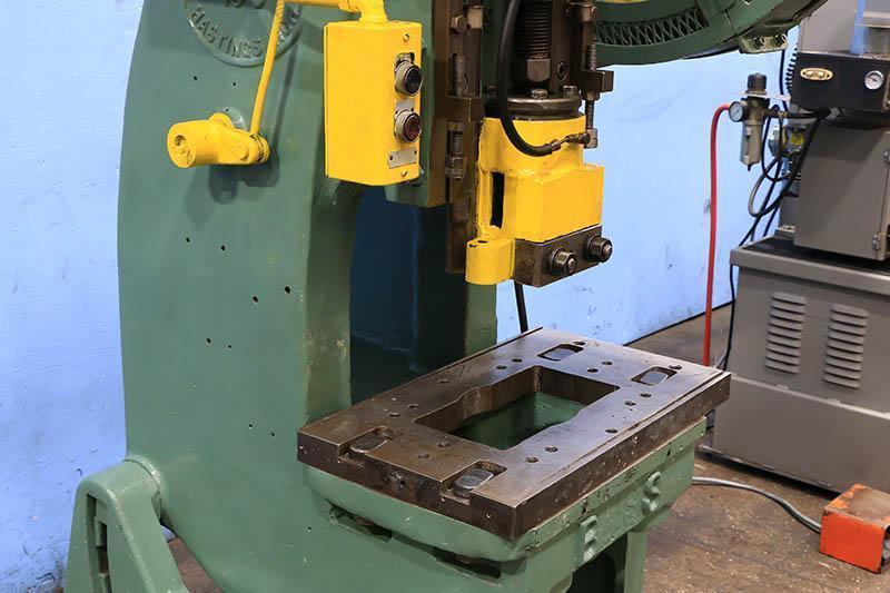 16 Ton Used Bliss OBI Mechanical Clutch Press Model 19C