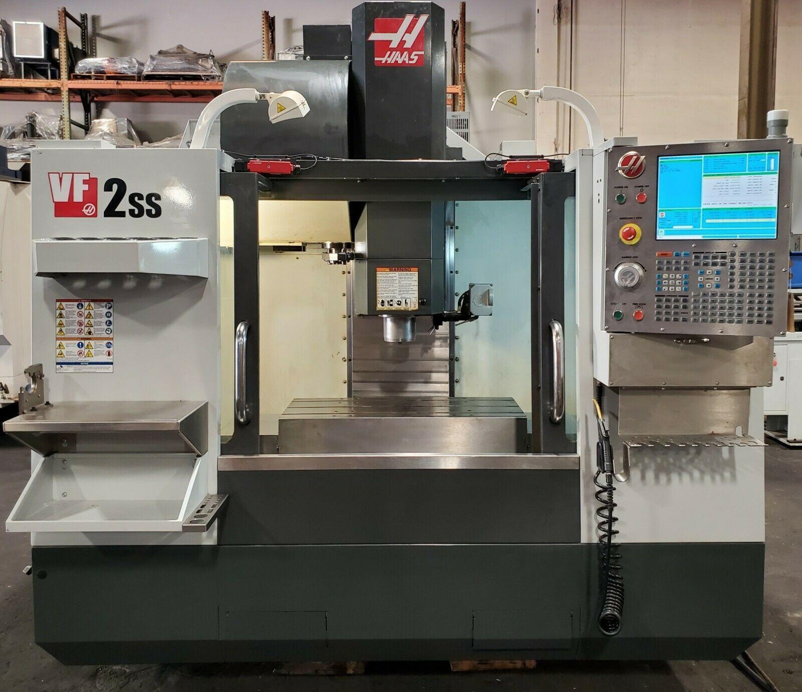 HAAS VF-2SS VERTICAL MACHINING CENTER 4TH AXIS READY CNC MILL