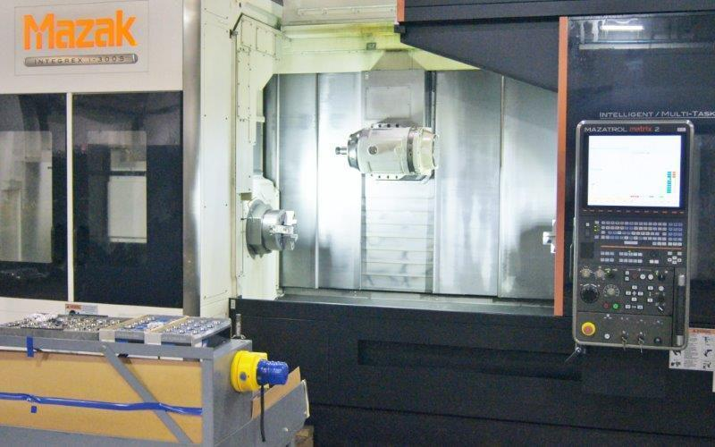 2012 Mazak Integrex i-300S - CNC Horizontal Lathe w/Gantry Loader