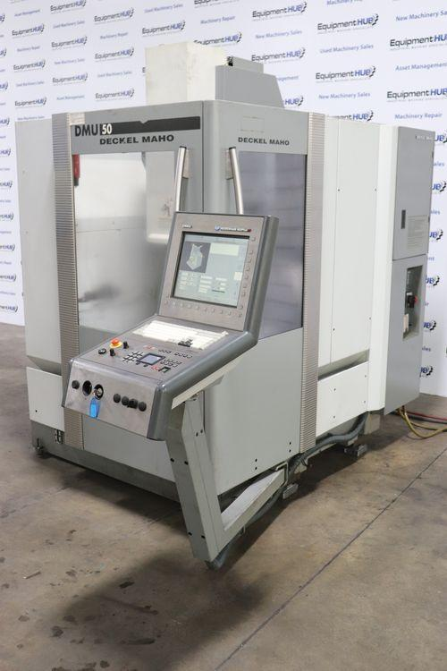 2007 DMG Mori DMU-50, 5 Axis CNC Vertical Machining Center
