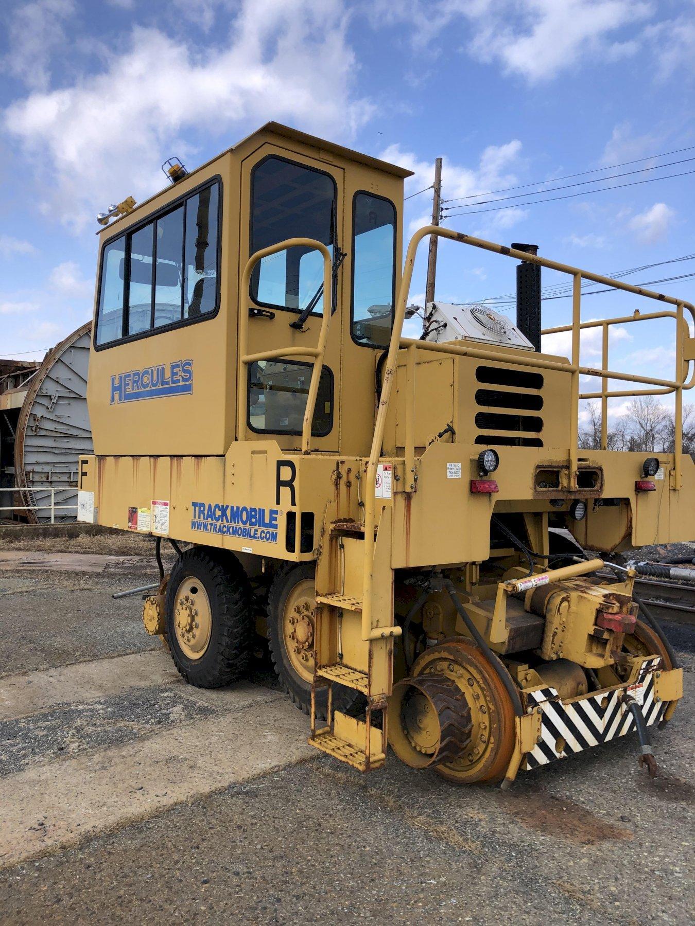 Trackmobile Hercules rail mover s/n lgn987120609