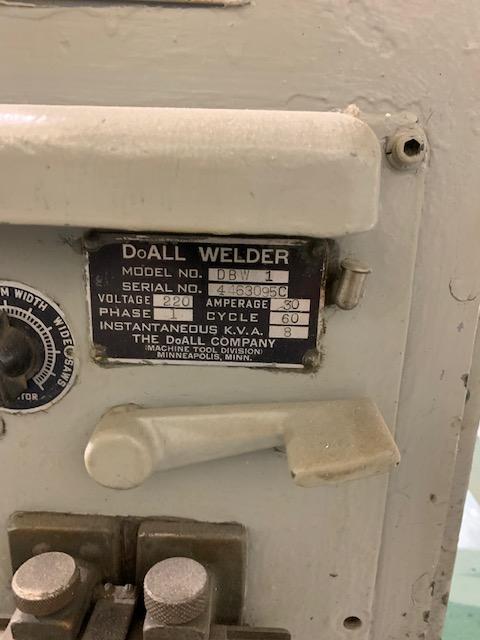 """16"""" Doall Vertical Bandsaw"""