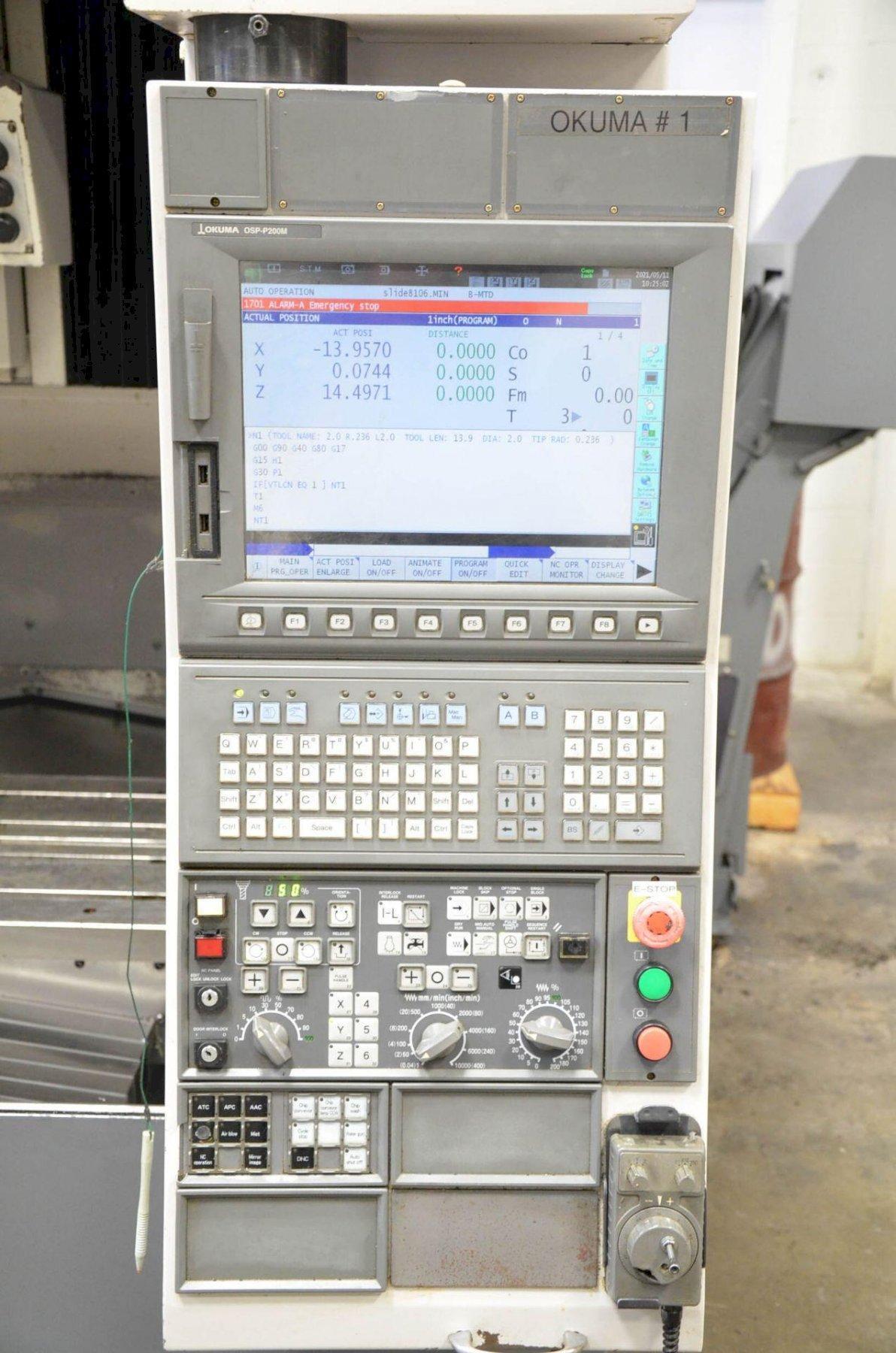 2007 OKUMA Ace Center MB-56VB
