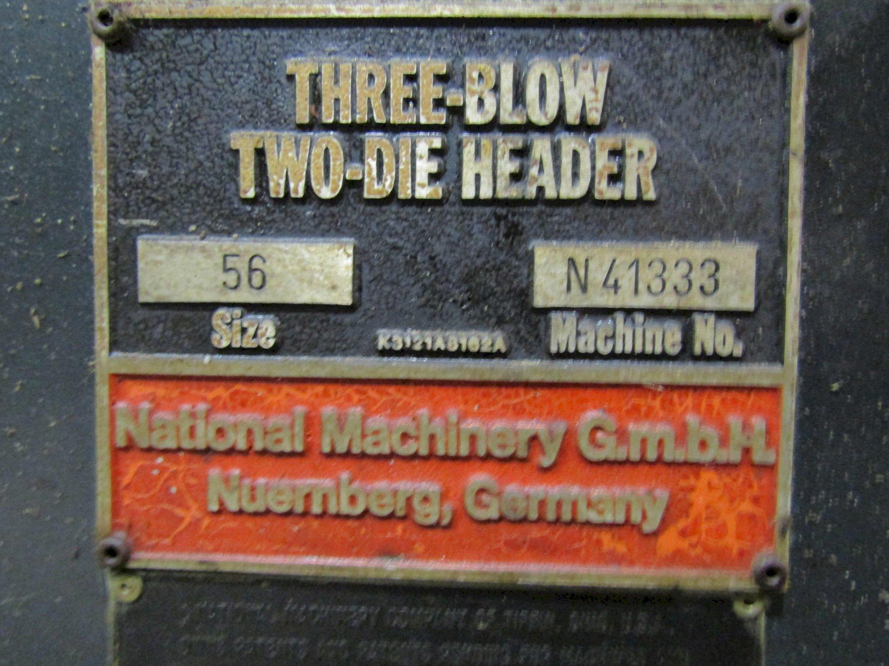 """5/16""""  National 56 2 Die 3 Blow Convertible Cold Header"""