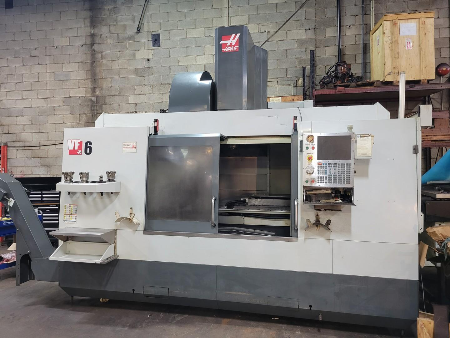 Haas VF-6/50 CNC Vertical Machining Center w/ Midaco 2-Pallet Changer, Low Hours!
