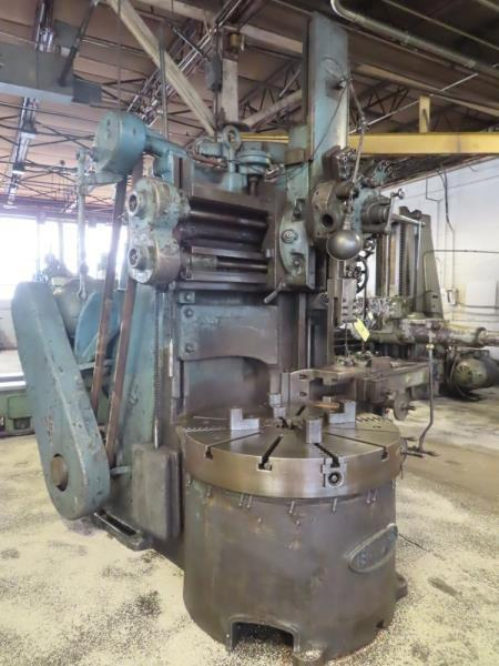 "42"" BULLARD 4 JAW VTL VERTICAL TURRET LATHE: STOCK# 13159"