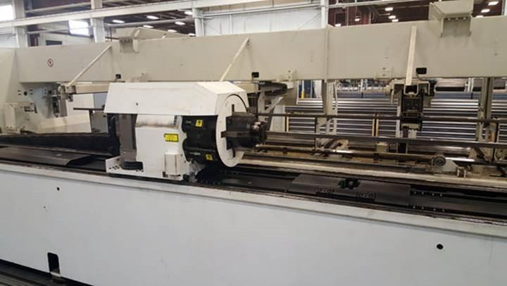Trumpf Model 5000 (T05) 3200 Watt C02 CNC Tube Laser- New 2015 Low Hours- Super Shape- IN PLANT UNDER POWER