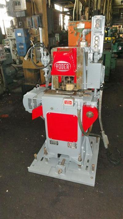 25 TON YODER MODEL #P25 CUTOFF MACHINE   Our stock number: 105275