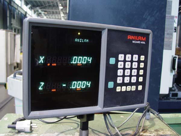 "15"" x 60"" NARDINI, Model ND1560, Anilam DROs, 15"" Swing, 60"" Centers, Inch/Metric Threading, New 1990."