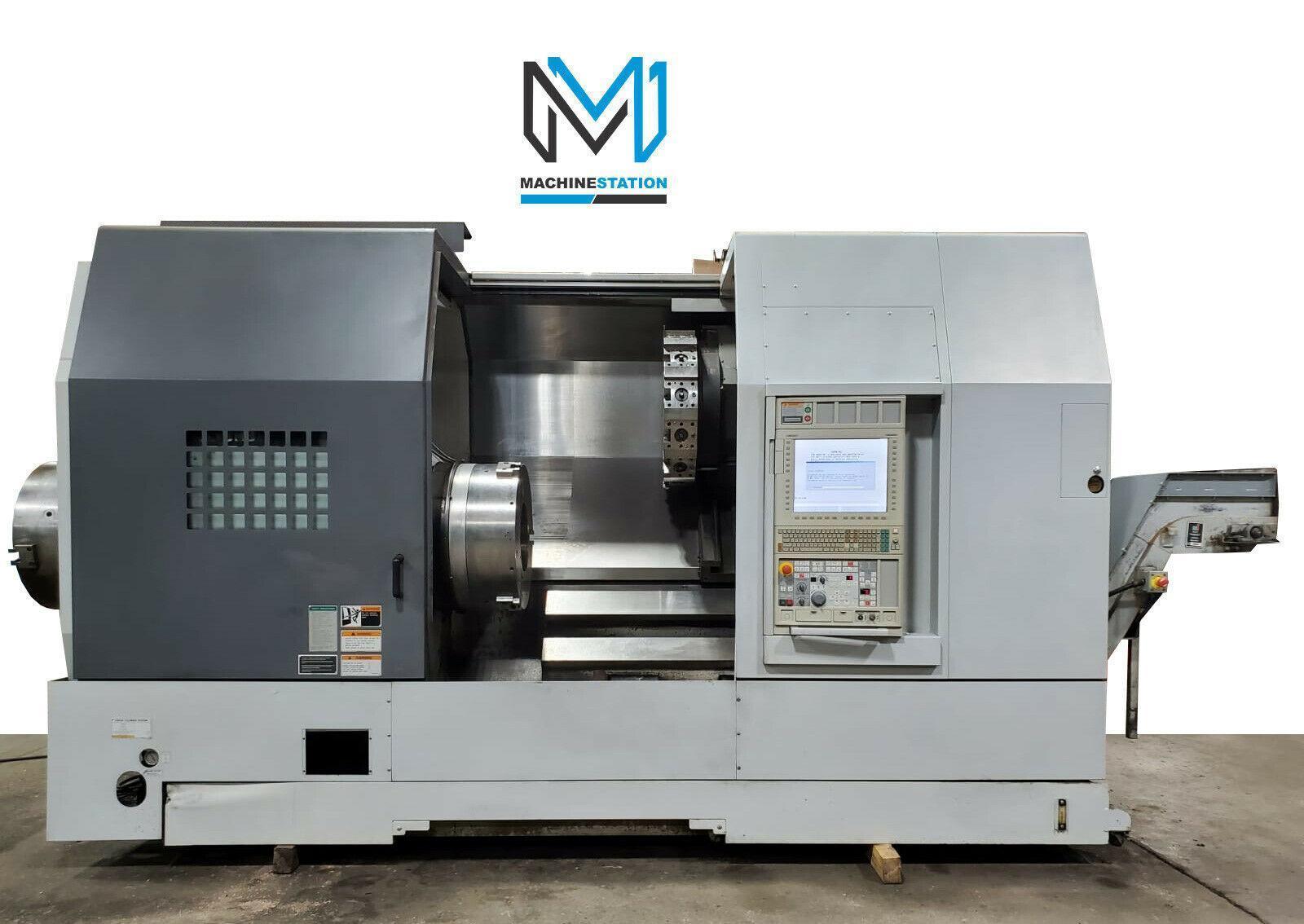 "DMG MORI SEIKI SL-603C/1000 CNC TURNING CENTER 10"" BIG BORE LATHE 2012"