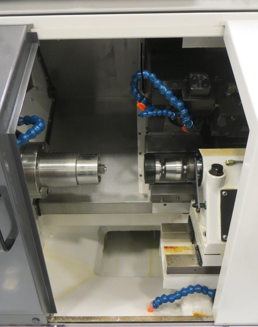 "2011 Takisawa Piston Cutting Machine, TPS-3400H, 10.2"" Diameter, 4000 RPM,"