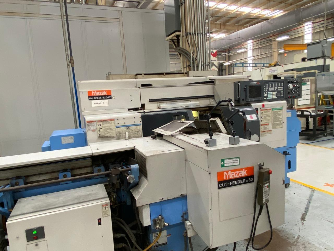 Mazak Multiplex 6200Y CNC Lathe
