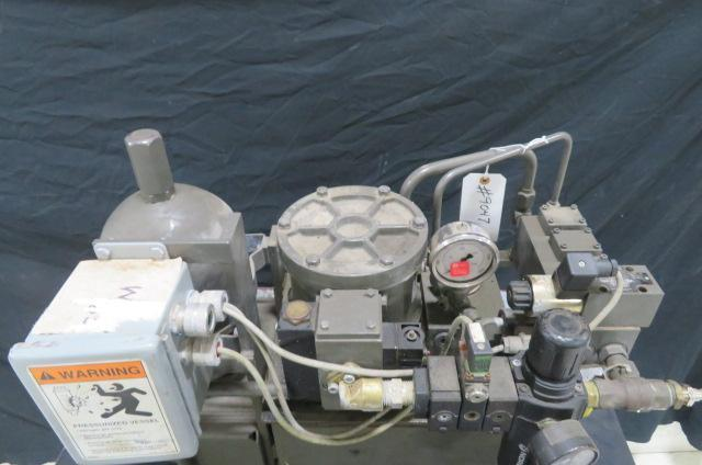Hydronic P820-30 Used Hydraulic Power Pack, Yr. 2004, Pneumatically Driven