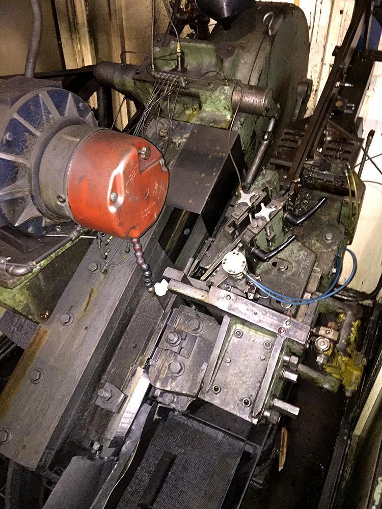 #30 Waterbury Incline Heavy Frame Flat Die Thread Roller