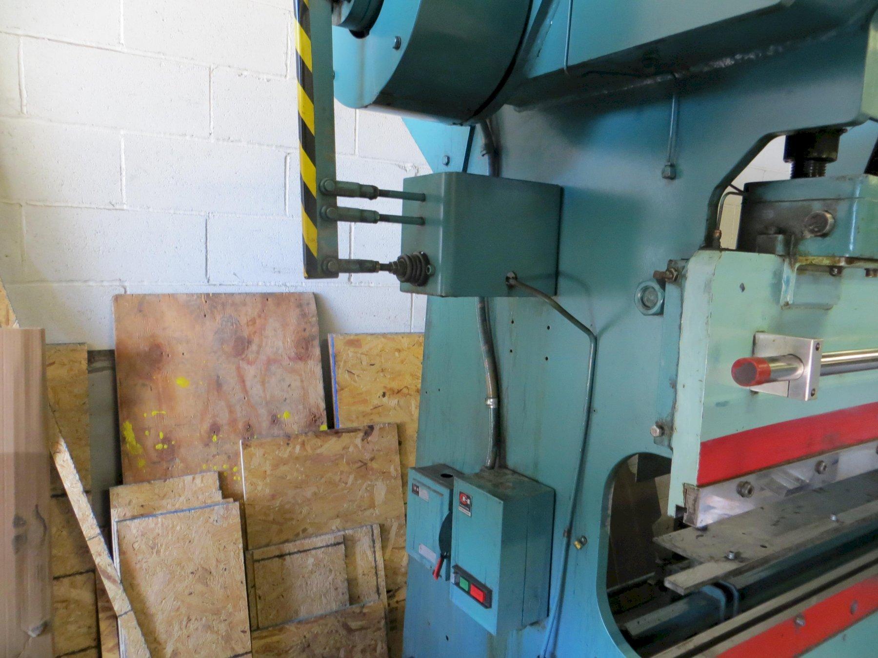 35 Ton x 6 ft, Wysong Mechanical Press Brake Model 3572