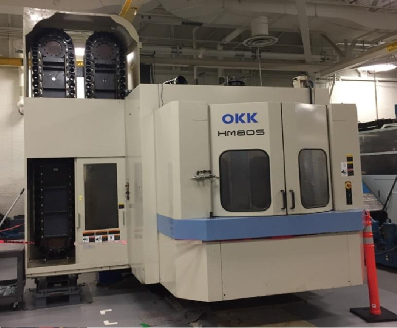OKK HM80s- CNC Horizontal Machining Center